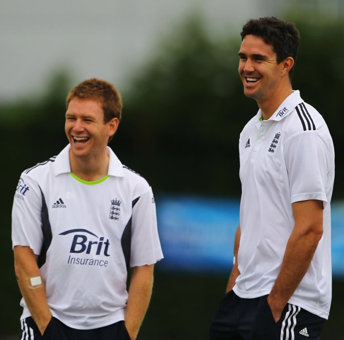"""""""I would love to be out here playing cricket for England with Kevin Pietersen"""""""