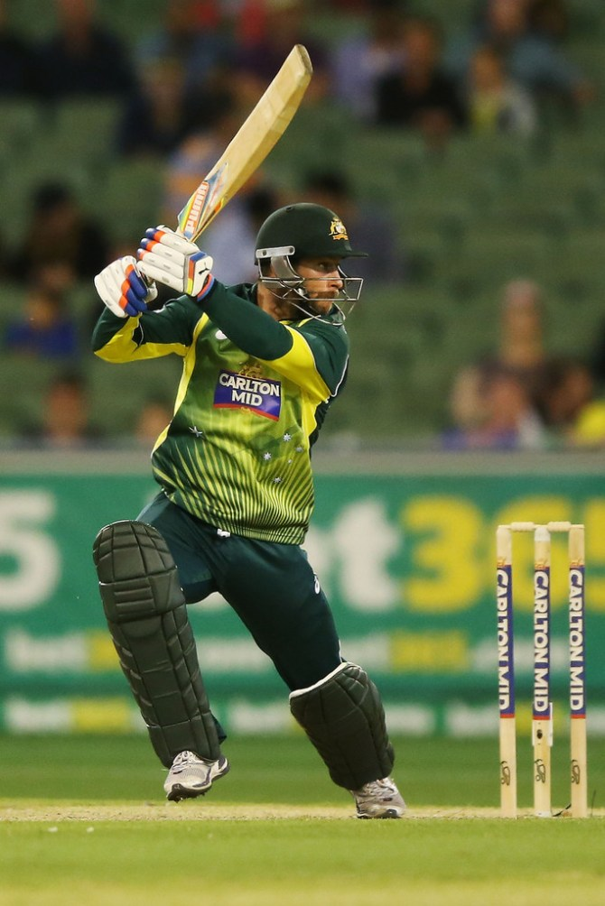 Wade smashed four boundaries and a six during his entertaining innings of 52