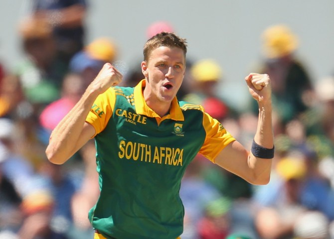 Morkel was named Man of the Match for his career-best figures of 5-21