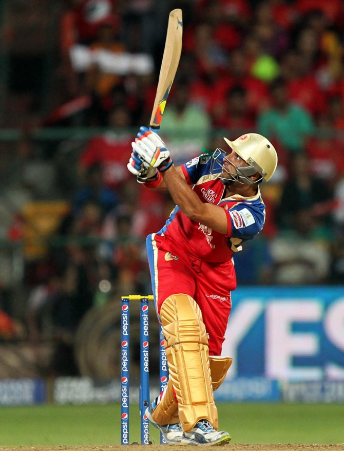 Singh is no longer part of the Royal Challengers Bangalore