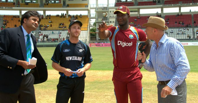 Williamson captained New Zealand in a Twenty20 International against the West Indies in July