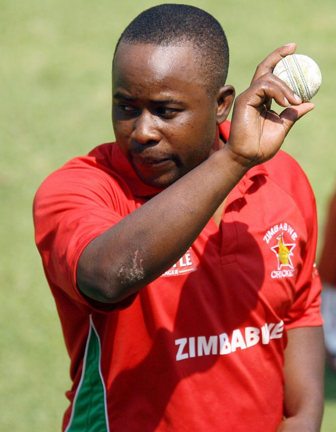 Utseya is still not allowed to bowl off-spin during international matches