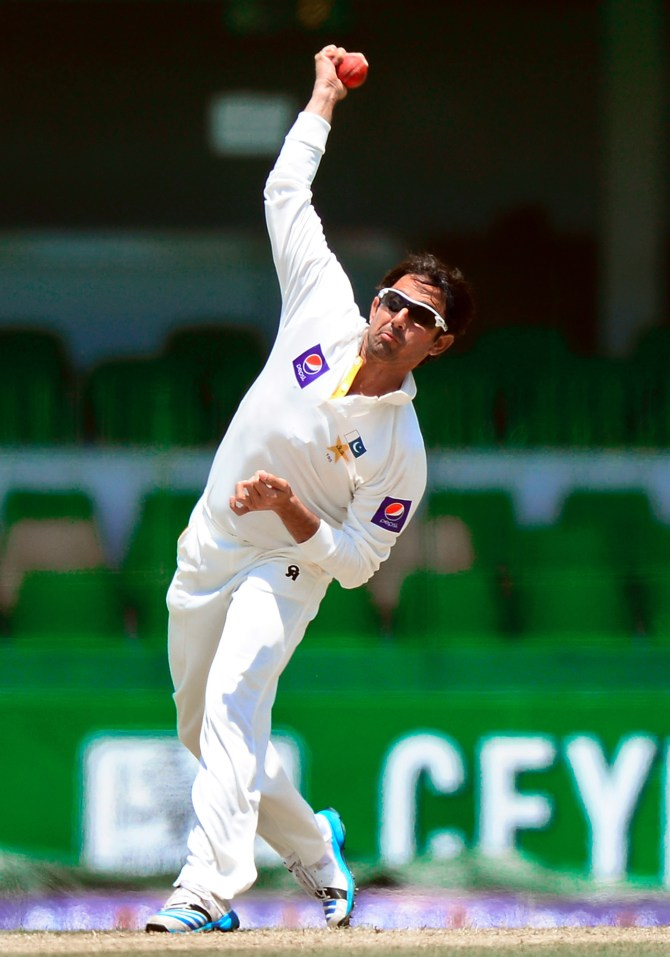 If Ajmal fails his test, he will be banned from bowling for one year