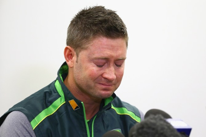 In addition to being a pall bearer, Clarke will also deliver a tribute to Hughes during the funeral