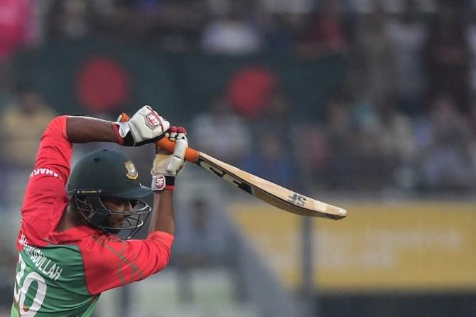 Mahmudullah struck 10 boundaries during his unbeaten knock of 51