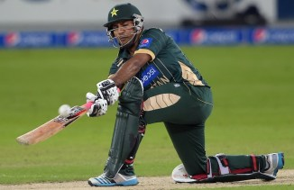 Ahmed hammered eight boundaries and two sixes during his career-best knock of 76