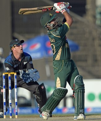 Shehzad was named Man of the Match for his superb century