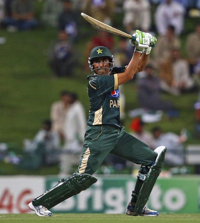 Khan's seventh ODI century went in vain