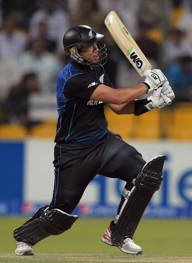 Taylor struck five boundaries and a six during his knock of 88