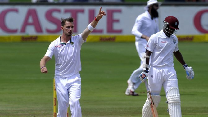 Steyn finished with 6-34 off 8.2 overs