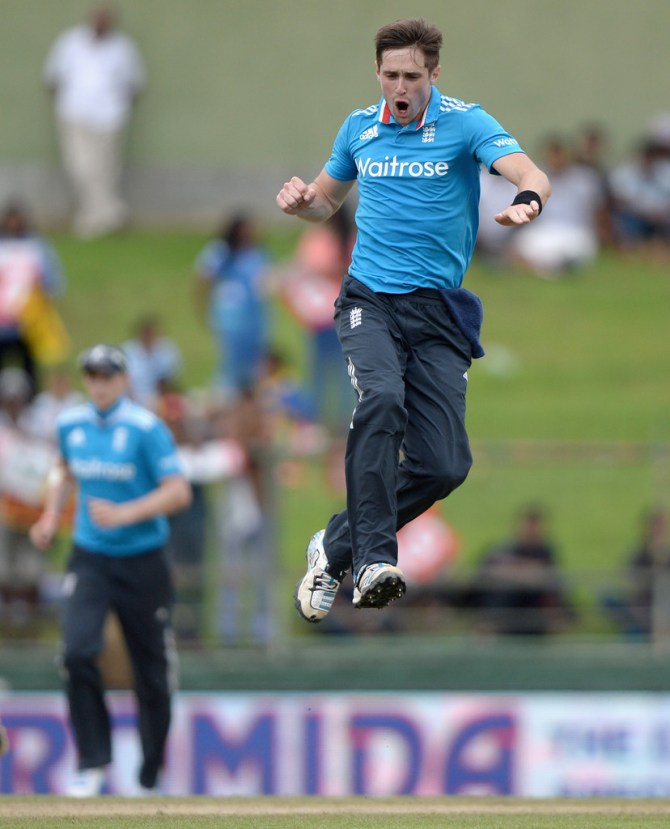 Woakes finished with figures of 6-47 off eight overs