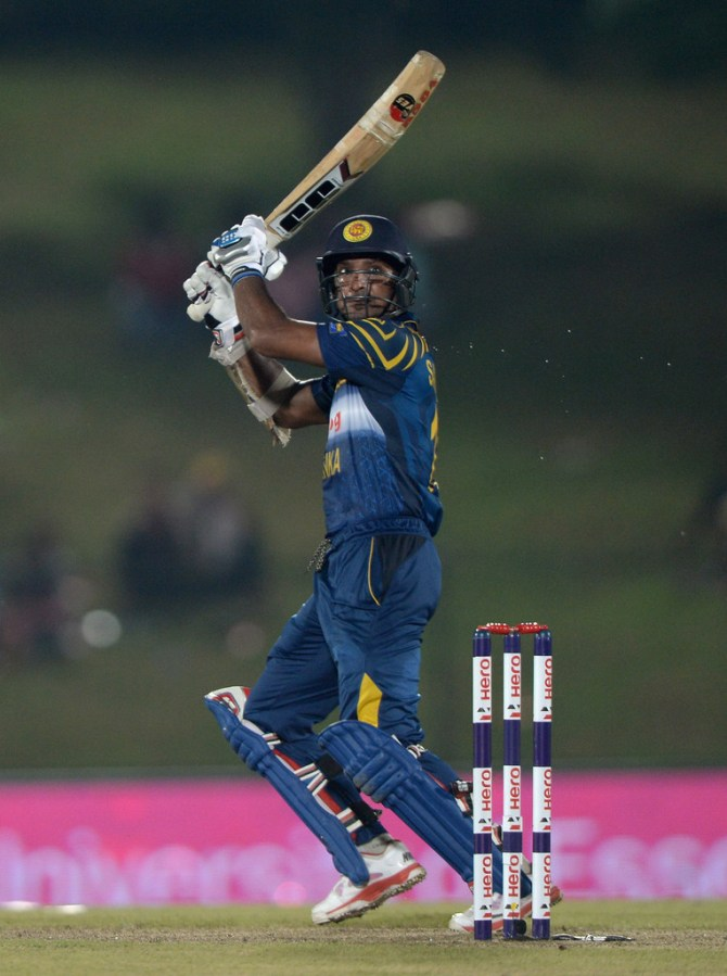 Sangakkara surpassed 13,000 ODI runs during his valiant knock of 63
