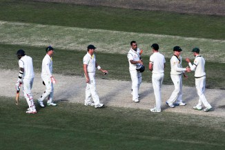 This was the first Test in 17 years to end as a draw at the MCG