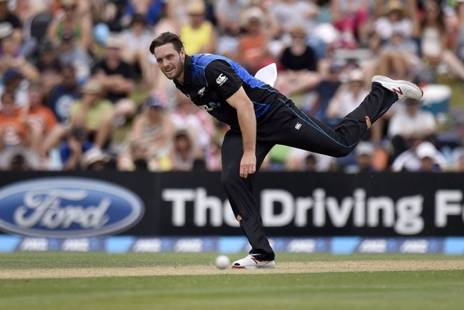 McClenaghan finished with figures of 4-36 off 10 overs