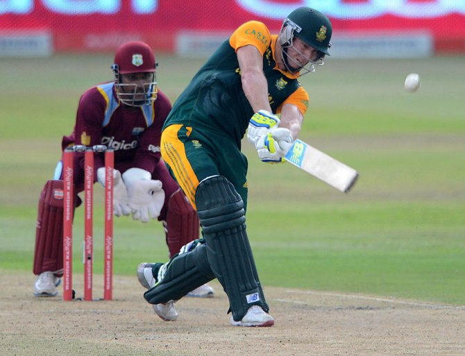Milller smashed seven boundaries and two sixes during his innings of 70