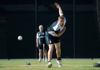Flintoff trained with England on Sunday in an attempt to help them turn their fortunes around