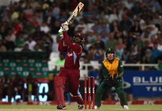 Gayle made the fastest half-century by a West Indian player in Twenty20 International history