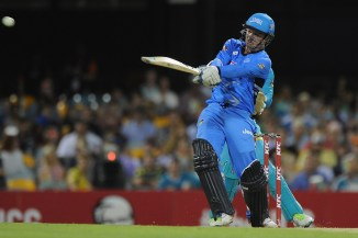Head hammered three boundaries and three sixes during his match-winning knock of 57