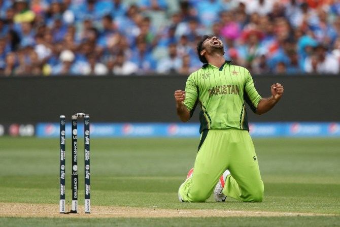 Khan finished with a career-best 5-55 off 10 overs
