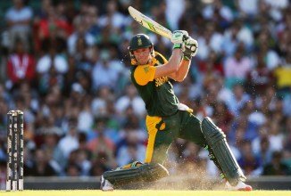 De Villiers now holds the record for the fastest 150 in ODI history