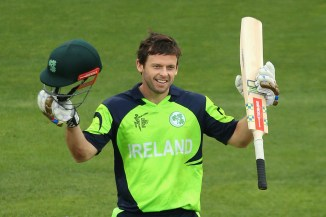 Joyce was named Man of the Match for his knock of 112