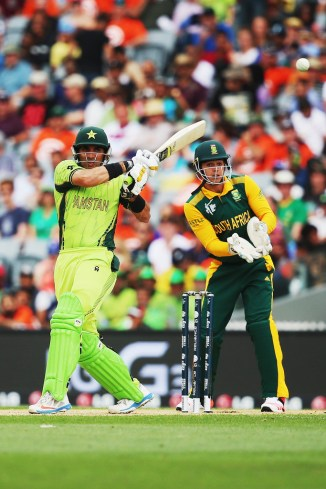Ul-Haq's magnificent form with the bat continued
