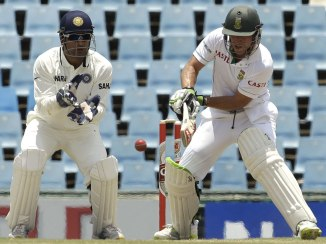 South Africa triumphed 1-0 in the last Test series against India in December 2013