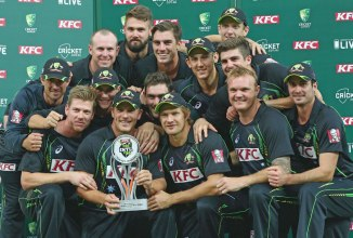 Australia beat South Africa 2-1 in the last Twenty20 series they were involved in, which came in November 2014