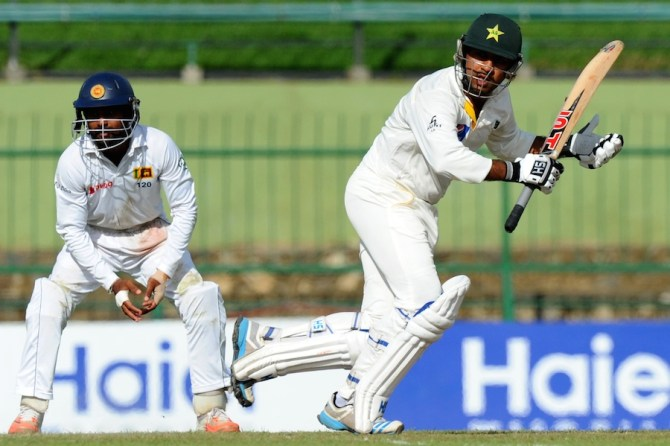 Ahmed hit six boundaries during his unbeaten knock of 72