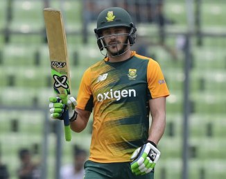 Du Plessis was named Man of the Match for his unbeaten knock of 79