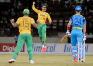 Narine finished with figures of 3-6 off his four overs