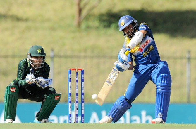 Dilshan became the fourth Sri Lankan batsman to make 10,000 ODI runs