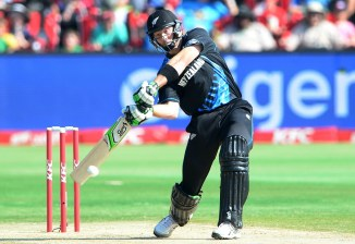 Guptill hit six boundaries and three sixes during his knock of 60