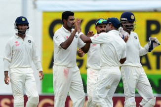 Ashwin finished with figures of 5-42 off 16 overs