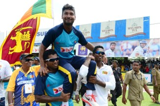 Sangakkara represented Sri Lanka in 134 Tests, 404 ODIs and 56 Twenty20 Internationals
