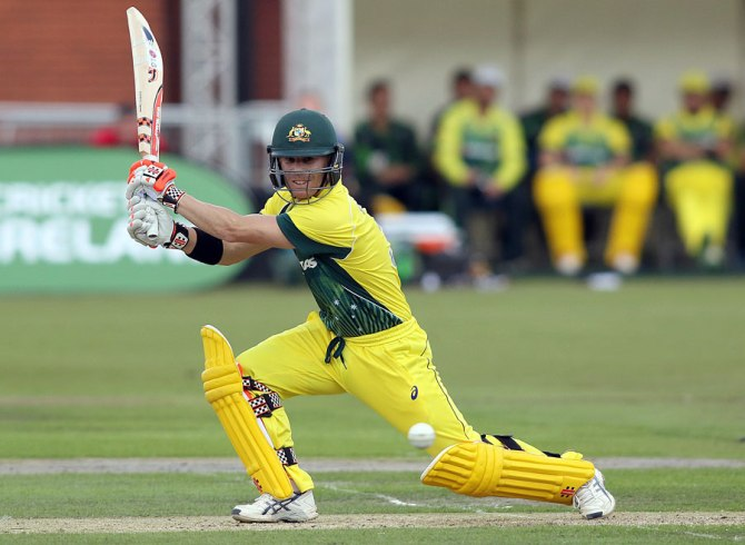 Warner was named Man of the Match for his knock of 84