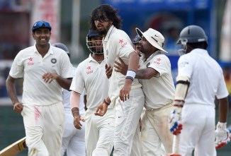India only need seven wickets to win the match and series