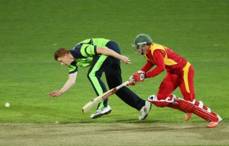 Ireland triumphed over Zimbabwe by five runs in their last meeting at the 2015 World Cup