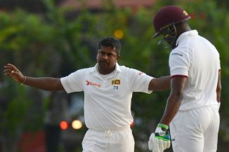 Herath finished with figures of 6-68 off 33 overs