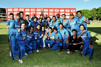 Afghanistan celebrate yet another historic win