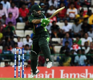 Rizwan hammered five boundaries and two sixes during his unbeaten knock of 55