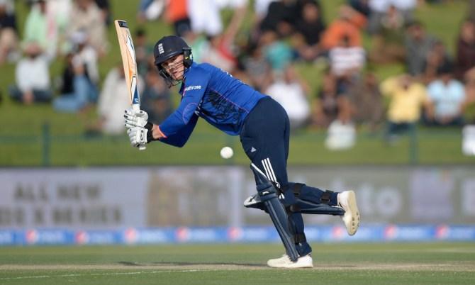 Roy scored his third ODI fifty