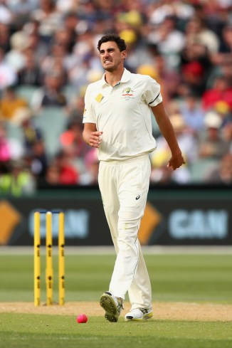 Starc has a stress fracture in the third metatarsal of his right foot