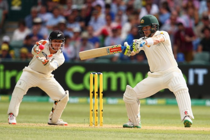 Nevill hit eight boundaries during his innings of 66