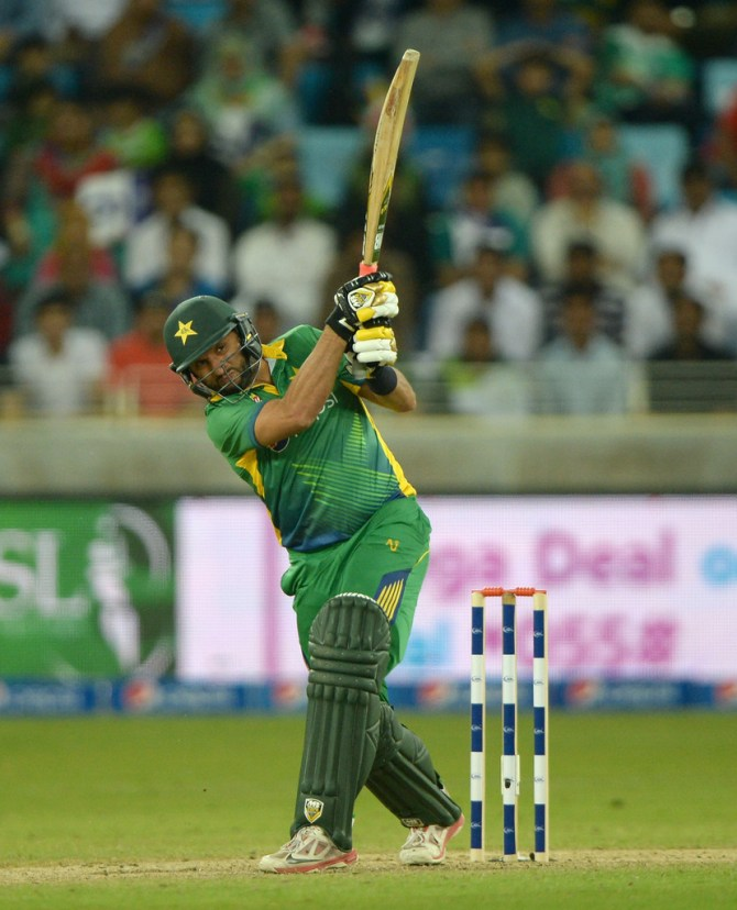 Shahid Afridi said there's no doubt Azam Khan is a hard-hitter