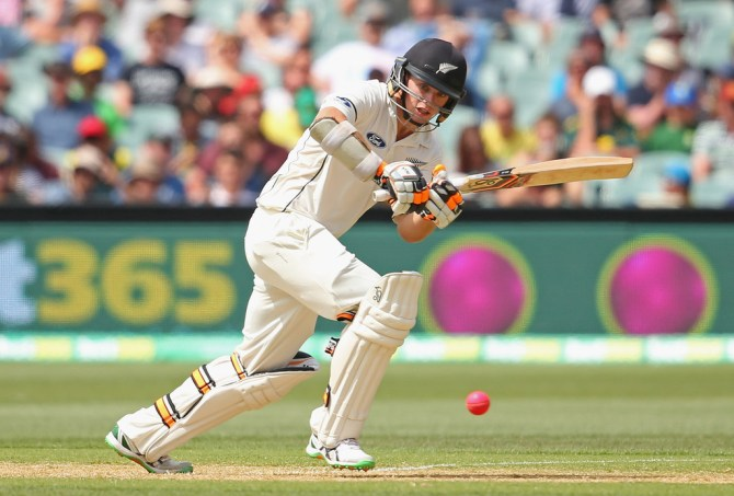 Latham scored his sixth Test fifty
