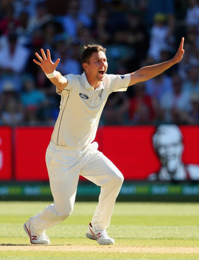 Boult finished with figures of 5-60 off 16 overs