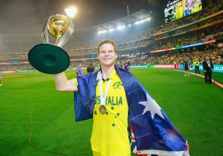 Smith found a place in both the ICC's Test and ODI teams of the year