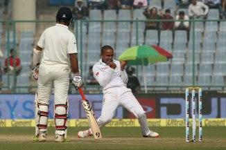 Piedt dismissed Vijay, Dhawan, Kohli and Sharma