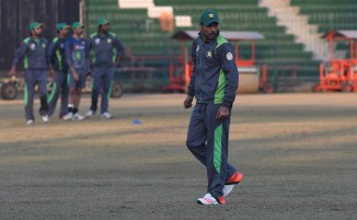 Ali and Hafeez have refused to take part in the camp due to Amir (pictured above)